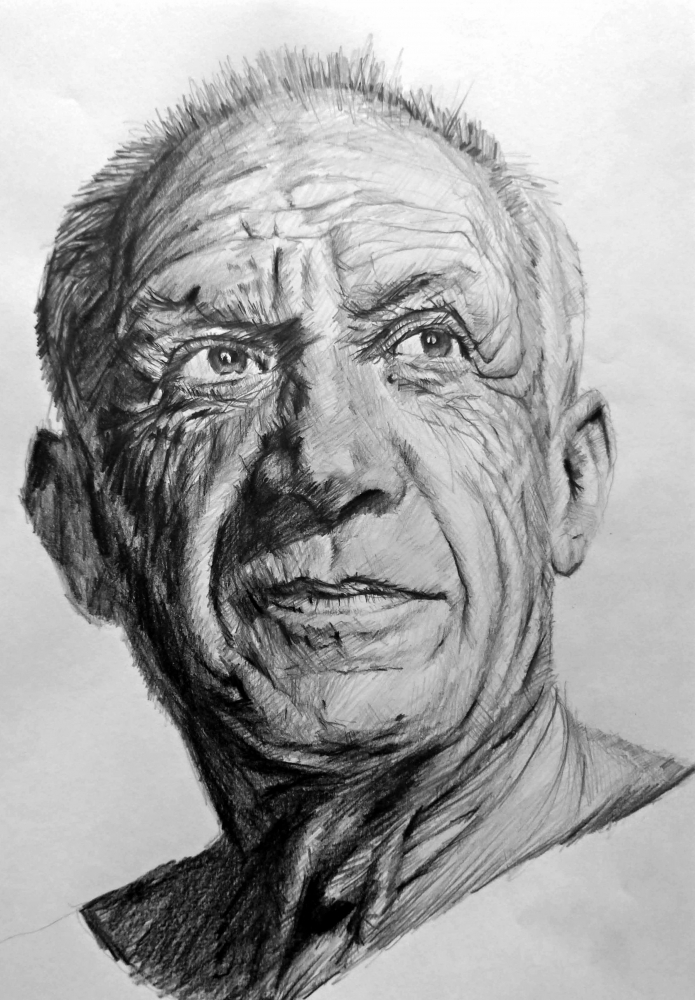 Pablo Picasso by linshyhchyang